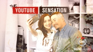 Roy Choi with YouTube Sensation, Michelle Phan