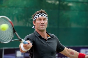 'Open Court' host Pat Cash travels to Vienna for an intense workout with rising star Dominic Thiem (Credit: Getty Images)