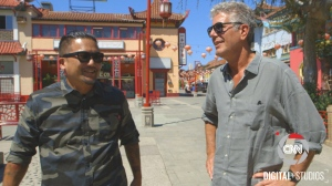 CNN's Street Food with Roy Chai Talks with Parts Unknown's Anthony Boudain