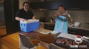 CNN's Street Food with Roy Chai Talks with filmmaker Jon Favreau