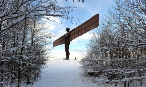 Antony Gormley's sculpture, 'Angel of the North' (Credit: Getty Images)