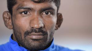 Indian wrestler Yogeshwar Dutt