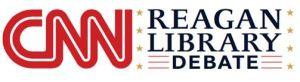 Reagan debate logo